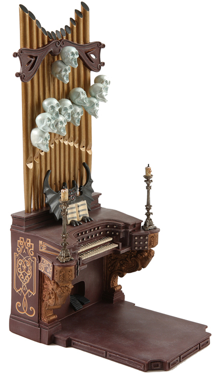Haunted Mansion Foyer Organ Sheet Music : The haunted mansion organ player with numbered